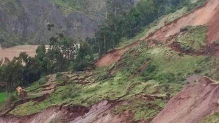 Bagua: cinco poblados aislados tras deslizamientos de tierra