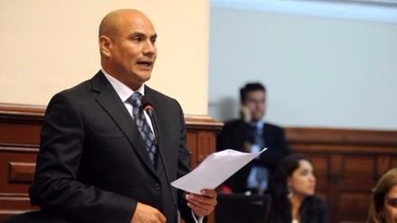 Joaquín Ramírez: Admiten pedido para levantar inmunidad parlamentaria