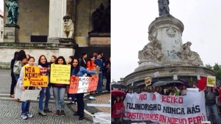 Facebook: marcha contra Keiko Fujimori sumó apoyo en el extranjero