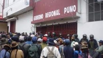 Gobierno Regional de Puno no podrá participar en concurso FONIPREL