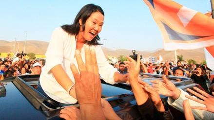 """Keiko Fujimori sobre marcha: """"Están en todo su derecho de hacerlo"""""""