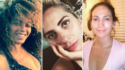 15 famosas que muestran su lado más natural sin maquillaje