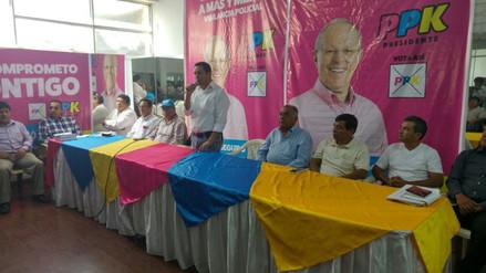 Lambayeque: líderes sindicales firman pacto a favor de PPK