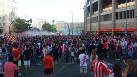 Atlético de Madrid: hinchas se reúnen para pedir a Simeone que se quede