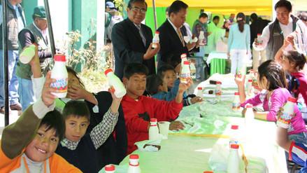 Por el Día Mundial de la Leche se vendieron mil litros en Huancayo
