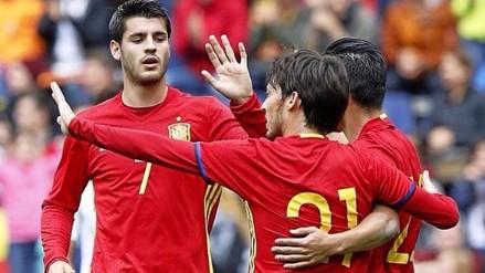 España goleó 6-1 a Corea del Sur en amistoso previo a la Eurocopa