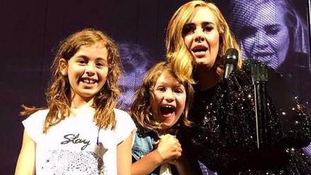 Instagram: Adele se vuelve loca al reconocer a fan en concierto