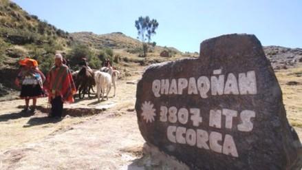 Ponen en uso social tramo del Qhapaq Ñan