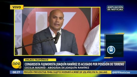"""Abogada: """"Vásquez no hizo ninguna declaración sobre Joaquín Ramírez"""""""