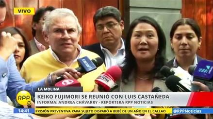Keiko Fujimori tras reunión con Castañeda: