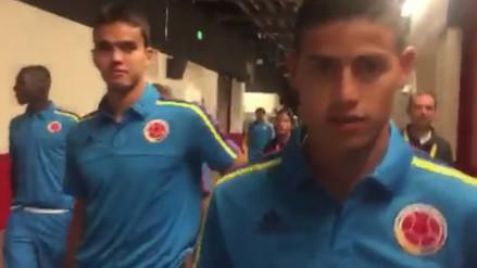Copa América: James Rodríguez saluda al Perú por RPP Noticias