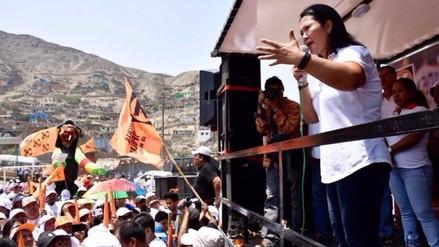 Keiko Fujimori prometió regular el precio de la leche en Huacho