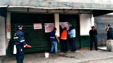 Trujillo: cierran siete bares reincidentes que funcionaban en mercados