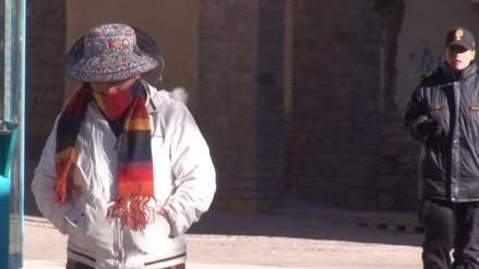 Temperaturas siguen bajo cero en la región Arequipa