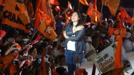 Keiko Fujimori cierra campaña en Lima y promete un gobierno de concertación