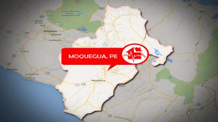 Cuatro sismo sacudieron Moquegua en un solo día