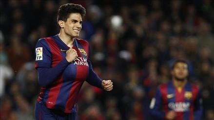 Barcelona: Marc Bartra fue fichado por el Borussia Dortmund