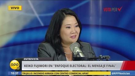 Keiko Fujimori en RPP: