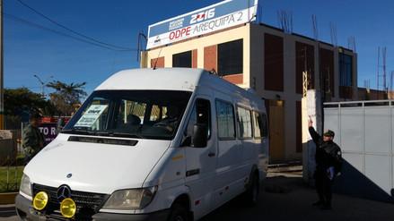 ODPE Arequipa 2 inició despliegue de material electoral