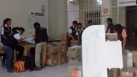 ODPE inicia distribución de material electoral a zonas más alejadas
