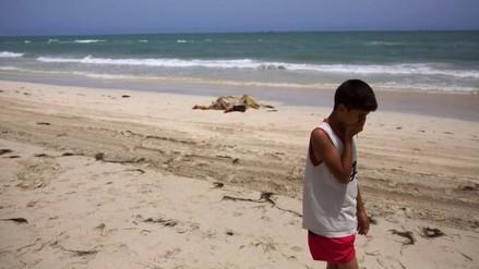 Libia: aparecen los 117 cadáveres de inmigrantes ahogados