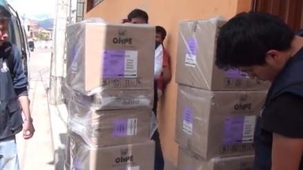 ODPE Cajamarca busca superar inconvenientes de la primera vuelta electoral