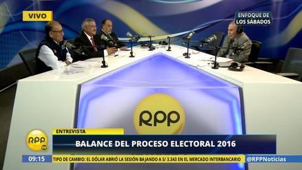 ONPE, JNE y Reniec piden a nuevo Congreso priorizar reforma electoral