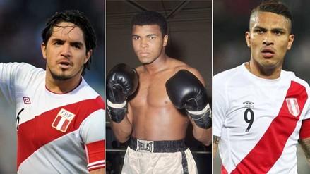 Juan Vargas y Paolo Guerrero fueron troleados por no saber de Mohamed Ali