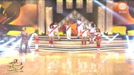 El Gran Show: velada inicia con coreografía alusiva a la selección