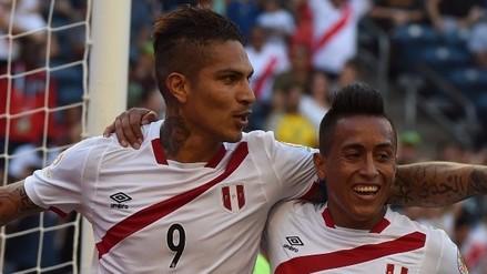 Perú vs. Haití: Paolo Guerrero anotó con soberbio cabezazo