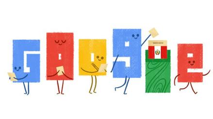 Google dedica este doodle a la segunda vuelta electoral