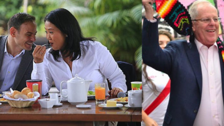 PPK o Keiko: ¿Cuál fue el desayuno más nutritivo de los candidatos?