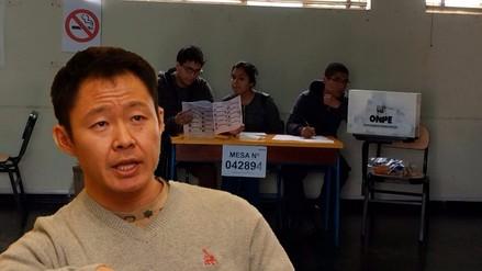 Kenji Fujimori no ejerció su derecho a voto en segunda vuelta