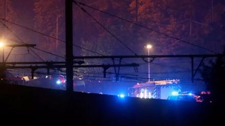 Un choque de trenes en Bélgica causa al menos 3 muertos y 40 heridos