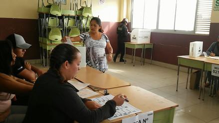 Con 3 horas de retraso se instaló la última mesa de votación en Chiclayo