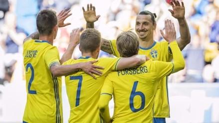Eurocopa: Suecia goleó 3-0 a Gales en último amistoso previo al torneo