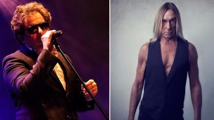 """Andrés Calamaro e Iggy Pop juntos en """"Ciudad Rock"""""""