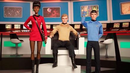 Facebook: Barbie lanzará colección con figuras de Star Trek