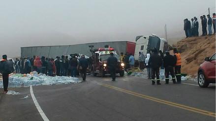 Seis muertos dejó accidente de tránsito en la vía Moquegua - Tacna