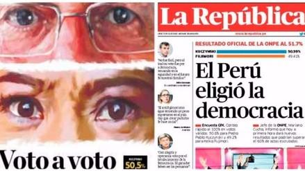 Fotos: estas son las portadas de los diarios locales tras la segunda vuelta