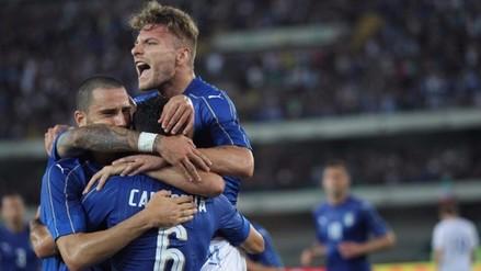 Eurocopa: Italia venció 2-0 a Finlandia de cara al certamen continental