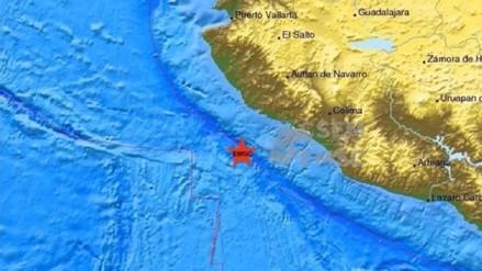 México: terremoto de 6,2 golpeó la costa occidental