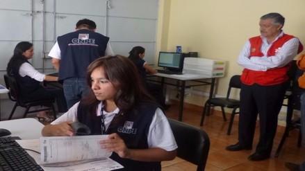 JEE Chiclayo resolverá 46 actas observadas en la segunda vuelta