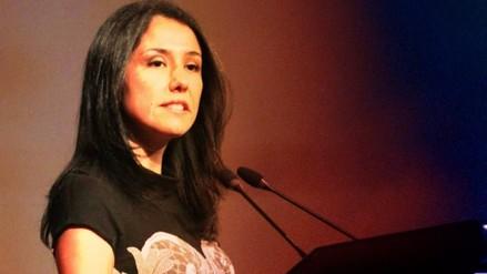 Fiscalía pide impedimento de salida del país para Nadine Heredia