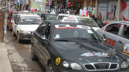 Huancayo: más del 60% de conductores no usan cinturón de seguridad
