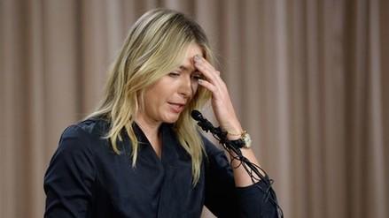María Sharapova fue suspendida dos años por dopaje
