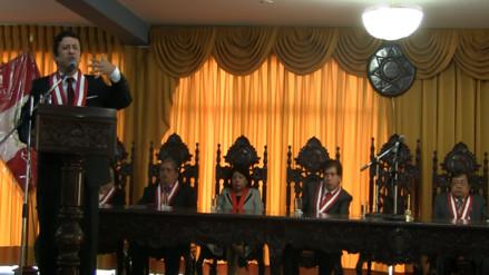Consejo Nacional de la Magistratura juramentó a nuevos jueces y fiscales