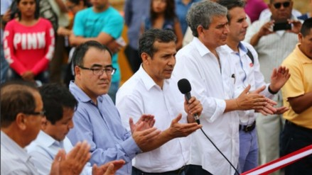 Ollanta Humala: La pobreza y la corrupción son enemigos del Perú