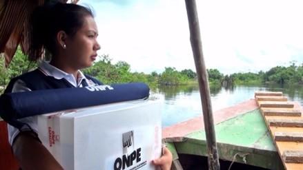 ONPE: Dificultades geográficas y seguridad impiden traslado de últimas actas