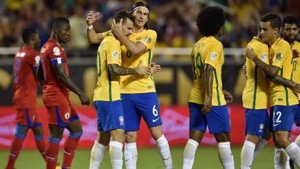 Copa América: Brasil goleó 7-1 a Haití con 'hat trick' de Philippe Coutinho